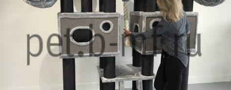 домик когтеточка королевский мейн кун большой комплекс крупных пород купить недорого от производителя 8